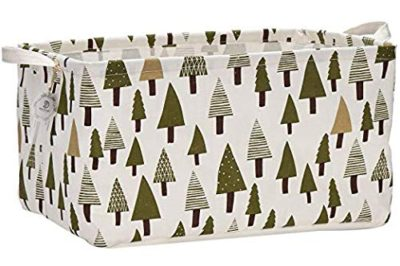 Cotton Fabric Storage Bins Shelves Storage Baskets Organizers