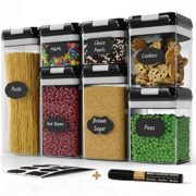 Chef's Path Airtight Food Storage Container Set - 7 PC Set