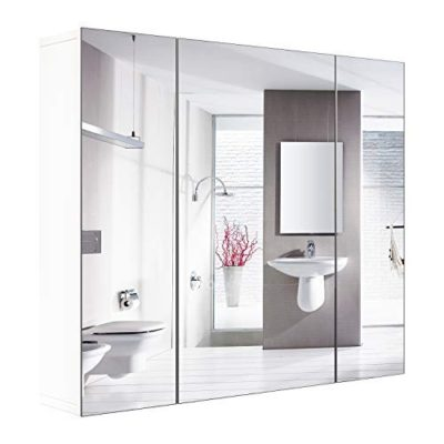HOMFA Bathroom Wall Mirror Cabinet 27.6""