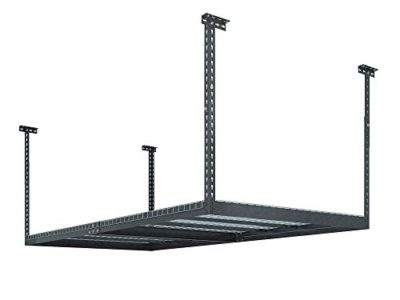 NewAge Products 40151 4-Feet by 8-Feet Ceiling Mount Garage Storage Rack