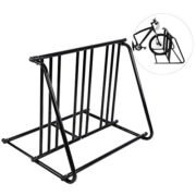 GOTOTOP Bikes Floor Mount Parking HD Steel Rack Storage Bicycle Yard Outdoor Stand