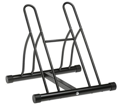 CASTOOL Two Bicycle Rack Bike Stand Cycling Rack Floor Storage Organizer