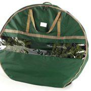 "CoverMates – 48"" Christmas Wreath Storage Bag – 3 Year Warranty- Green"