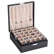 BEWISHOME Earring Organizer Holder for Cufflinks