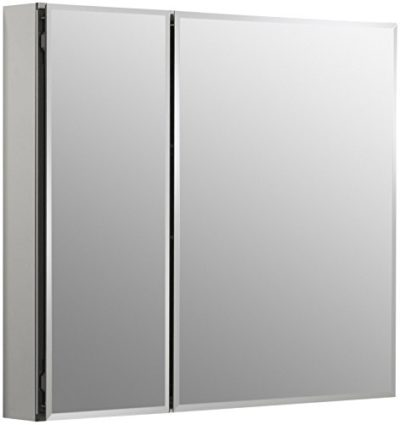 Double Door 30 inch x 26 inch Aluminum Bathroom Medicine Cabinet