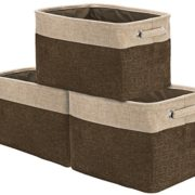 Sorbus Storage Large Basket Set [3-Pack]