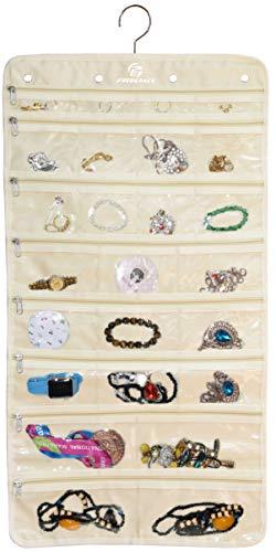 Premium Hanging Jewelry Organizer Revolving Hanger