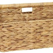 Household Essentials ML-6017 Wicker Magazine Rack - Natural