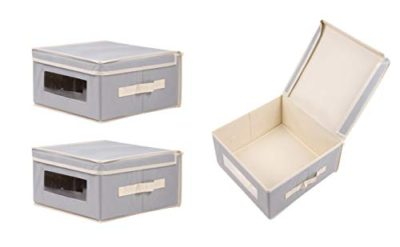 Juvale Storage Bins - 3-Pack Small Foldable Storage Cubes