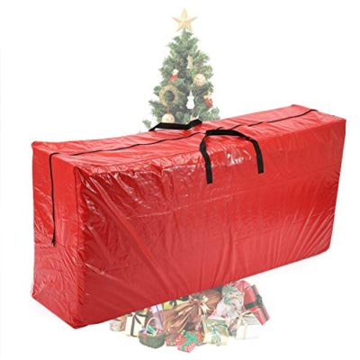 """Vencer Red Extra Large Christmas Tree Bag for 9 Foot Tree Holiday 65"""" x 30"""" x 15"""",VHO-001"""