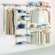 Rubbermaid Configurations Deluxe Custom Closet Organizer System Kit