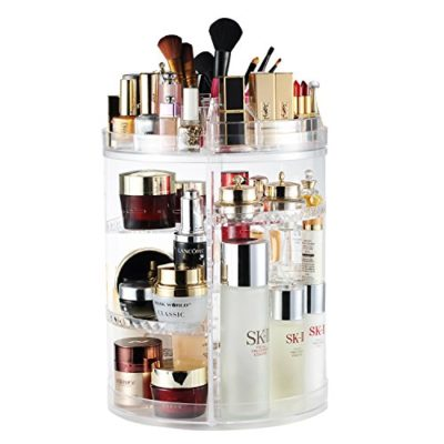 AMEITECH Makeup Organizer, 360 Degree Rotating Adjustable