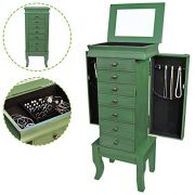 Jewelry Treasure Armorie Cabinet Chest Big Storage Box Organizer