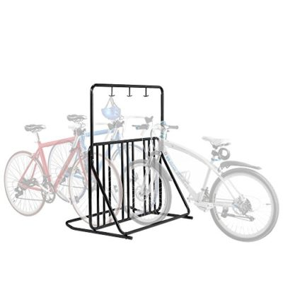Six Bike Floor Stand Bicycle Instant Park