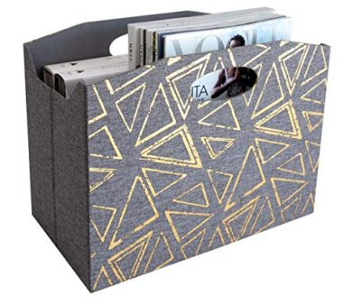 Mail Basket - Newspaper Holder - Bathroom Magazine Rack