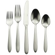 Oneida B336045A Mooncrest 45-Piece Flatware Set, Service for 8,Silver,45 Piece