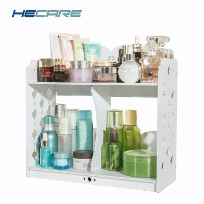 HECARE Plastic Jewelry Box Office Organizer Storage Box Case For Office DIY Assembly Cosmetics Organizer Makeup Organizer Box