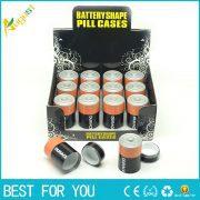 1PC Diversion Safe Stash Pill Box Battery Secret Hidden Money Coins Container Case as gift for men storage box