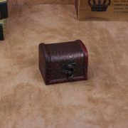 2pcs/Lot Antique Wooden Box Jewelry Box Ornaments Sundries Storage Boxes Desktop Organizer Treasure Chest Wood Storage Case Gift