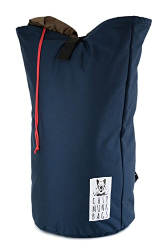ChipmunkBags 115 Liter Laundry Backpack - Navy | College & City Laundry Bag