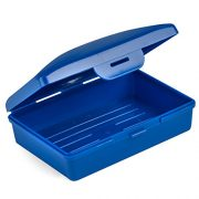 Hugging Tree Hill Soap Box Dish - Cobalt Blue