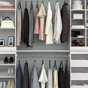 ClosetMaid Modular Closet Storage Shelf and Hang Rod Kit