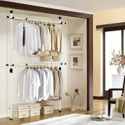 Prince Hanger, 1-Touch Double Adjustable Hanger