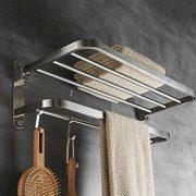 BESy Premium SUS Stainless Steel Towel Racks for Bathroom