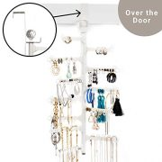 All Hung Up 12-Tier Extra Capacity Over The Door OR Wall Mounted Jewelry