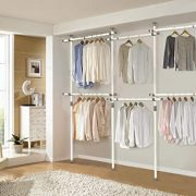 PRINCE HANGER, 1-Touch Triple 2-Tier Adjustable, Heavy Duty
