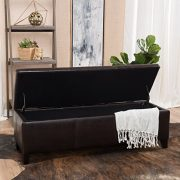 Christopher Knight Home Living Deal Furniture | Skyler Faux Leather Storage