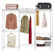 Wire Steel Closet System Organizer White