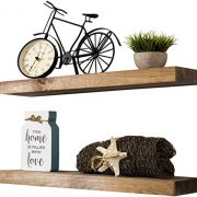 Imperative Décor Floating Shelves Rustic Wood Wall Shelf USA Handmade