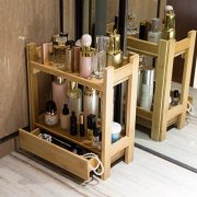 GOBAM Makeup Organizer Holder Cosmetic Storage Bathroom Organizer