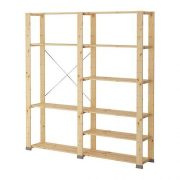 Ikea 2 sections, softwood