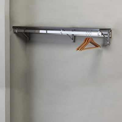 "Arrange A Space Arrrange a Space RCMSY Best 32"" Single Shelf/Hang Rod Kit"