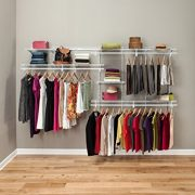 ClosetMaid ShelfTrack 7Ft. To 10Ft. Adjustable Closet Organizer Kit