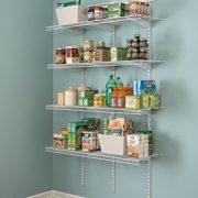 ClosetMaid ShelfTrack 4ft. Pantry Organizer Kit