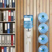 CASAVIDA 4-Tier Water Cooler Jug Rack, Water Bottle Storage