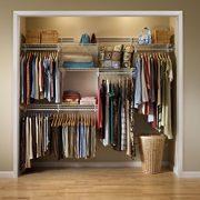 ClosetMaid ShelfTrack Closet Organizer Kit