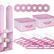 Delta Children Nursery Closet Organizer, Pink