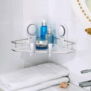 Chuanmao Corner Shelf Bathroom Shelves Triangle Stainless Steel