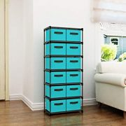 Homebi Storage Chest Shelf Unit 12-Drawer Storage Cabinet
