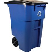 Rubbermaid Commercial Products BRUTE Rollout Heavy-Duty Wheeled Recycling
