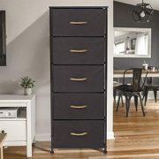 Crestlive Products Vertical Dresser Storage Tower - Sturdy Steel Frame