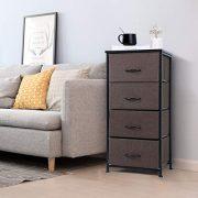 TomCare Dresser 4-Drawer Storage Drawers Dressers Thicken Wood