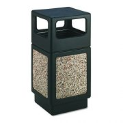 Safco Products Canmeleon Outdoor/Indoor Aggregate Panel Trash Can