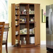 Sauder Double Door Storage Cabinet, Large