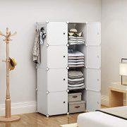 YOZO Modular Closet Portable Wardrobe for Teens Kids Chest