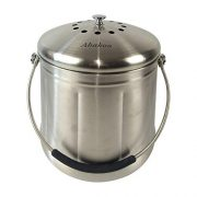 Abakoo Compost Bin Stainless Steel Kitchen Composter